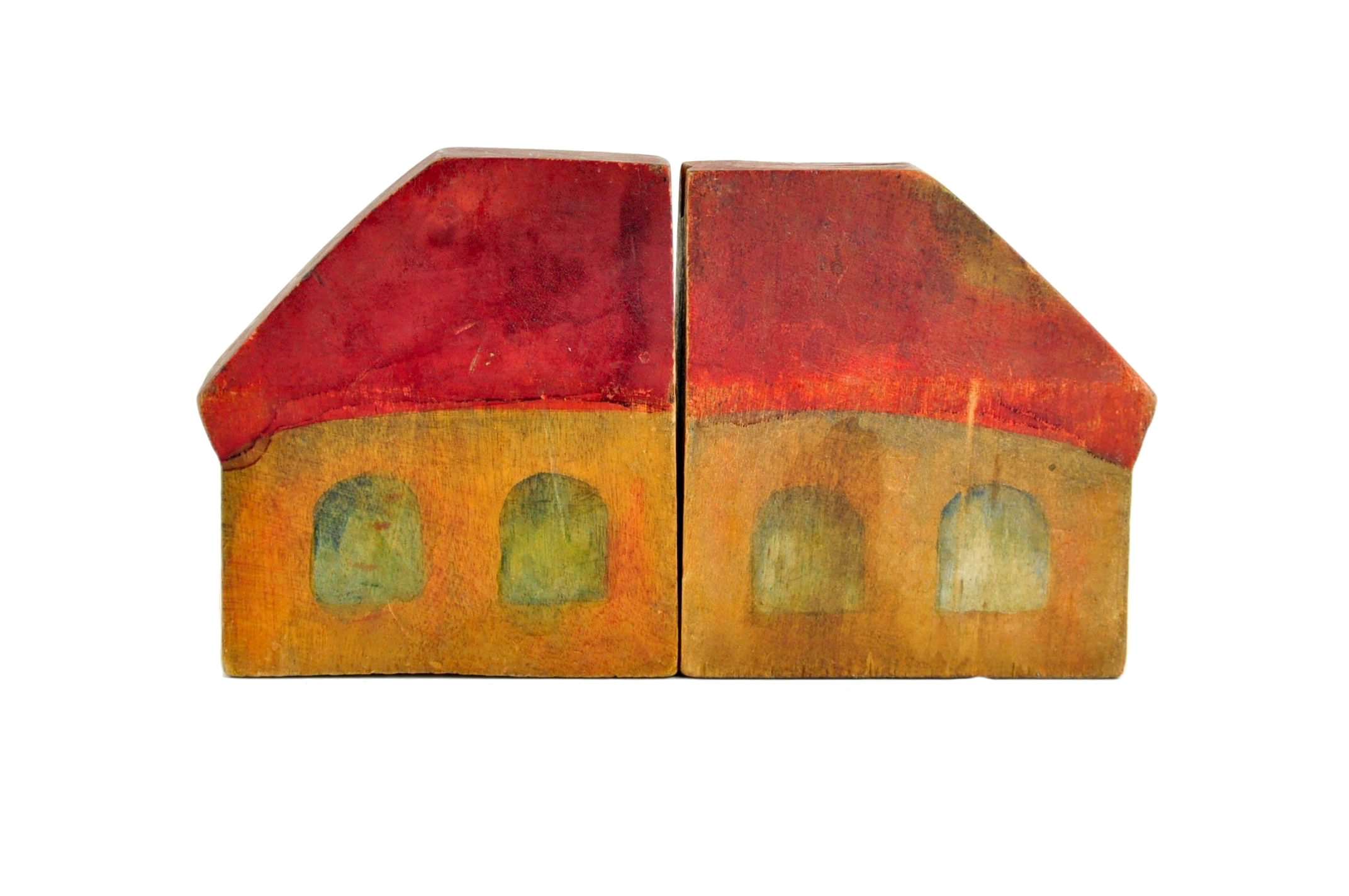 Wooden Toy House Image