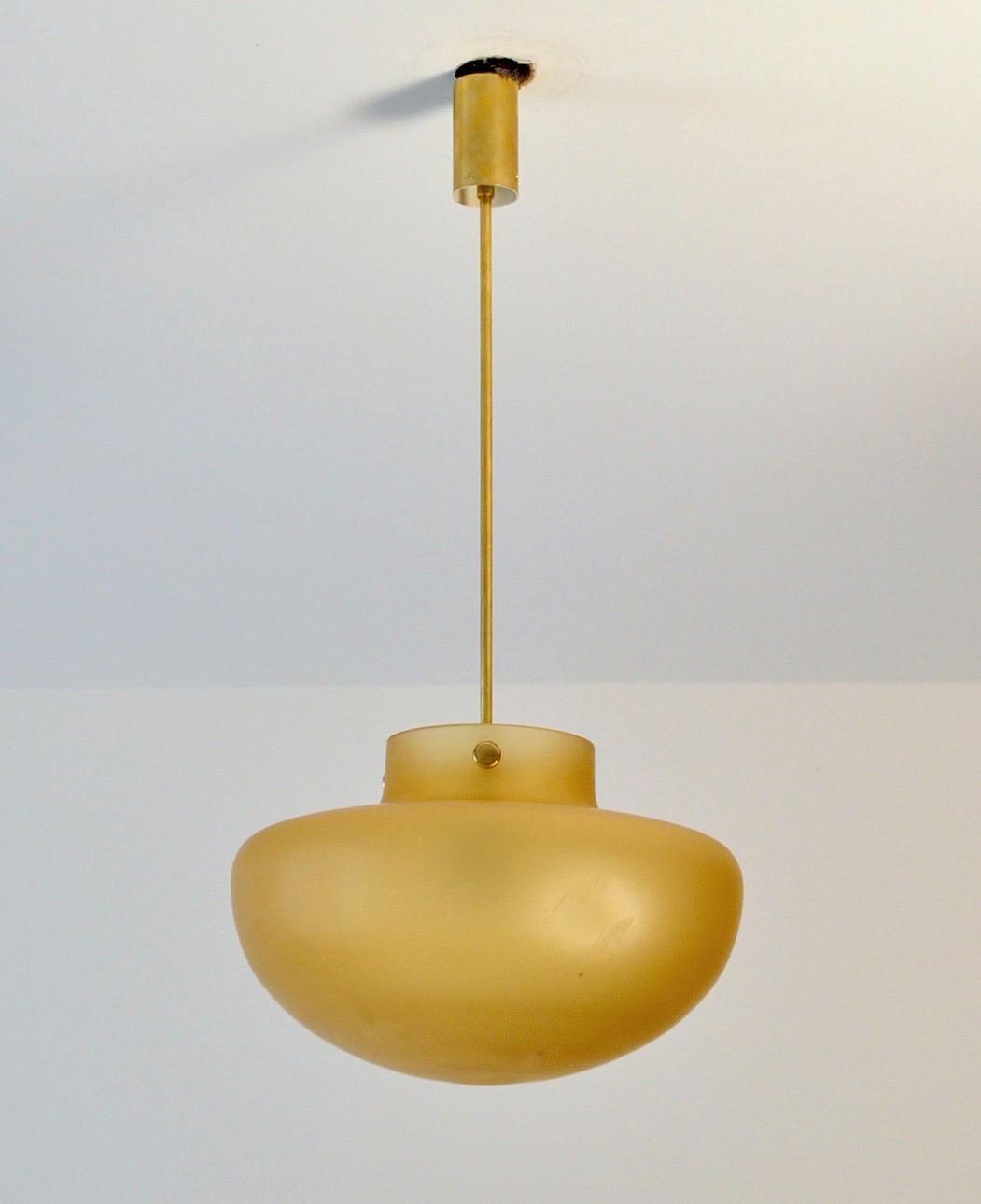 Studio Venini Pendant, Murano Italy 1950s Image