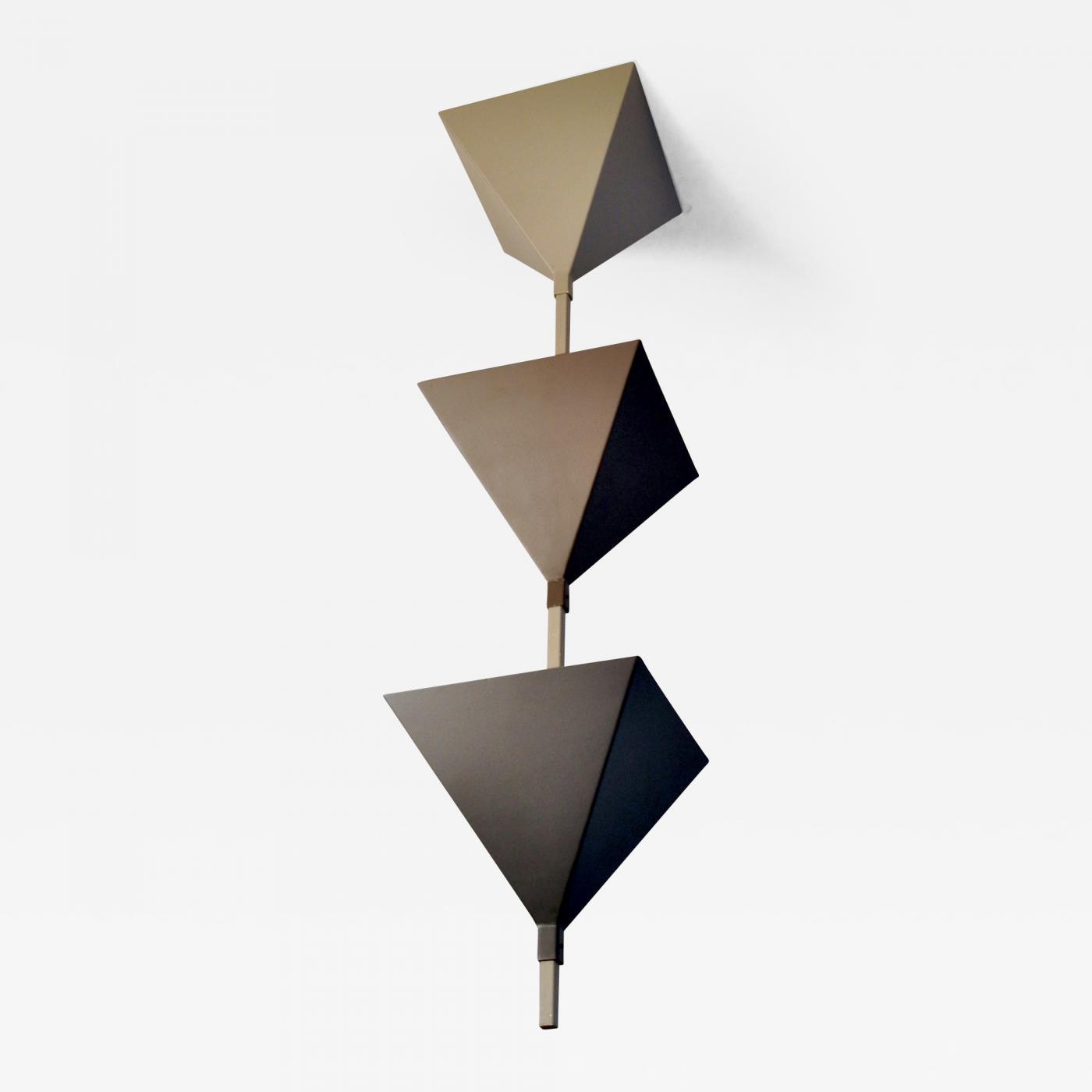 Cubistic Ceiling Lamp, Zurich 1980s Image