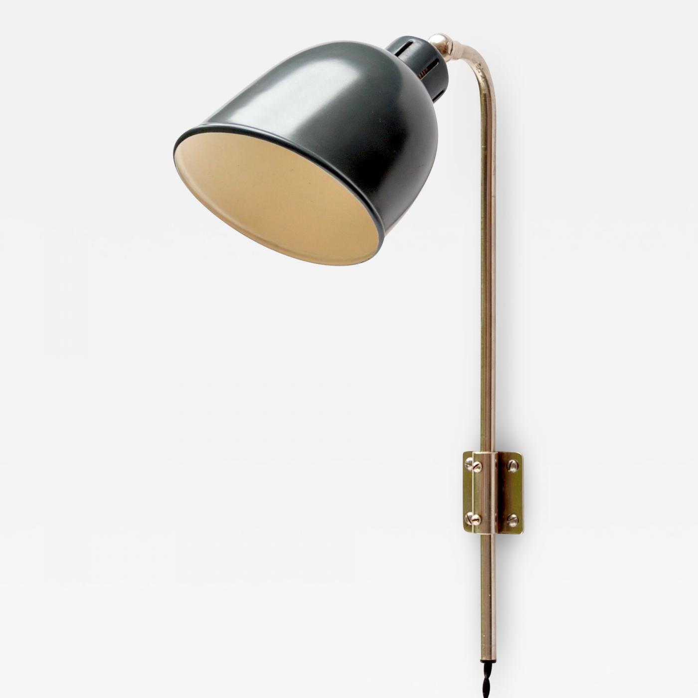 Alfred Muller Wall Lamp by AMBA Basel, Switzerland 1940s Image