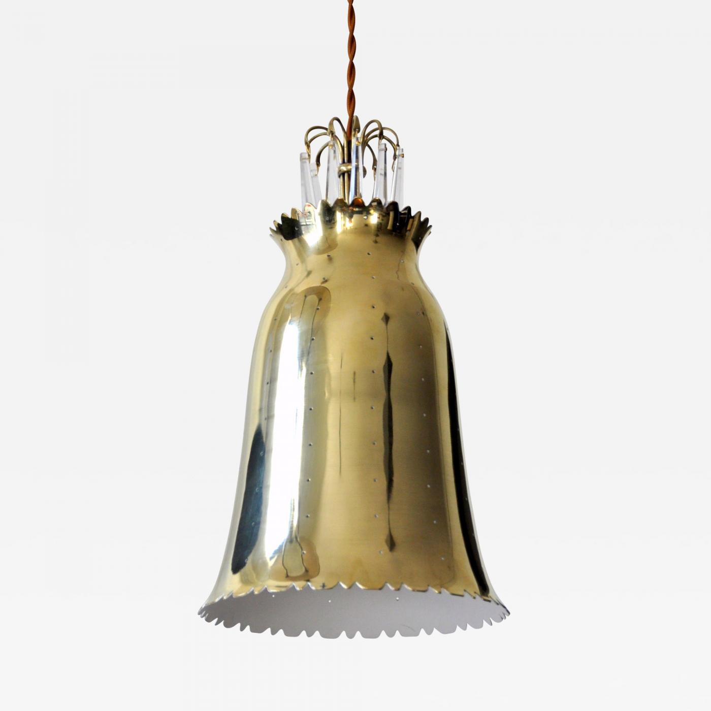 Brass Pendant Lamp, 1950s Europe Image